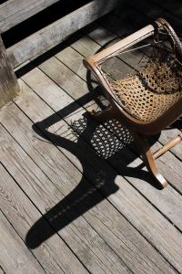 Wicker Chair & Shadow - Preview